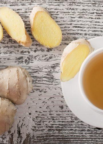 תה ג'ינג'ר מרענן וממריץ לפי הרפואה הסינית
